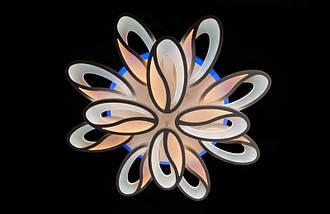 Светодиодная припотолочная люстра с диммером. Площадь освещения 16-22 кв.м5565/8+4 LED Dimmer, фото 3