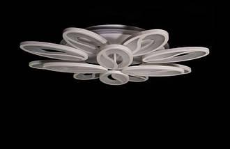 Светодиодная припотолочная люстра с диммером. Площадь освещения 16-22 кв.м5565/8+4 LED Dimmer, фото 2