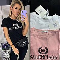 """Футболка жіноча """"Balenciaga"""", баленсіага"""