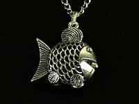 Кулон Рыбка с Жемчуженкой Любви