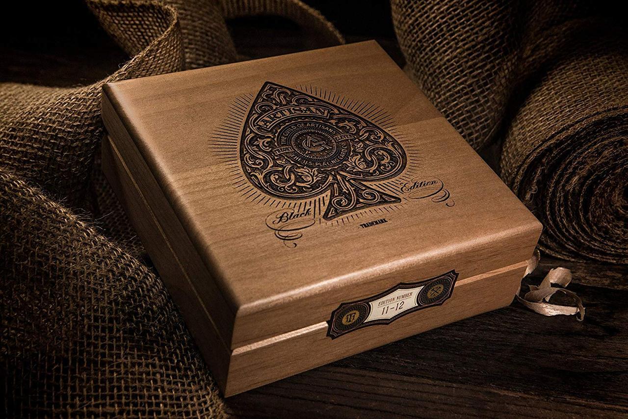 Artisan Luxury Edition - Laser Etched Wood Box Set