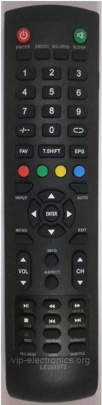 Пульт DEX  LE2845T2 TV  (CE)
