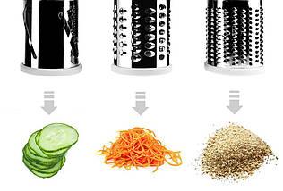 Овощерезка терка механическая ручная мультислайсер для овощей и фруктов Kitchen Master (5140), фото 3