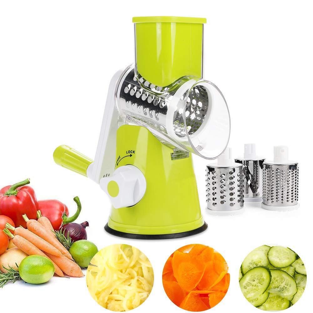 Овощерезка терка механическая ручная мультислайсер для овощей и фруктов Kitchen Master (5140)