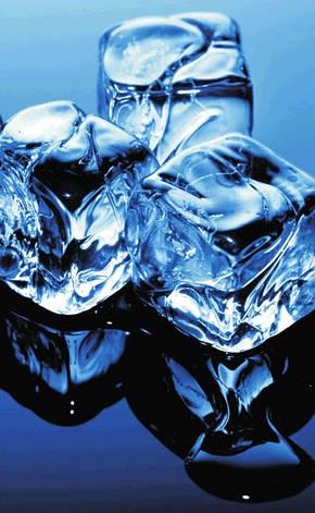 Газ. колонка MATRIX Blue ice (Лід), фото 2