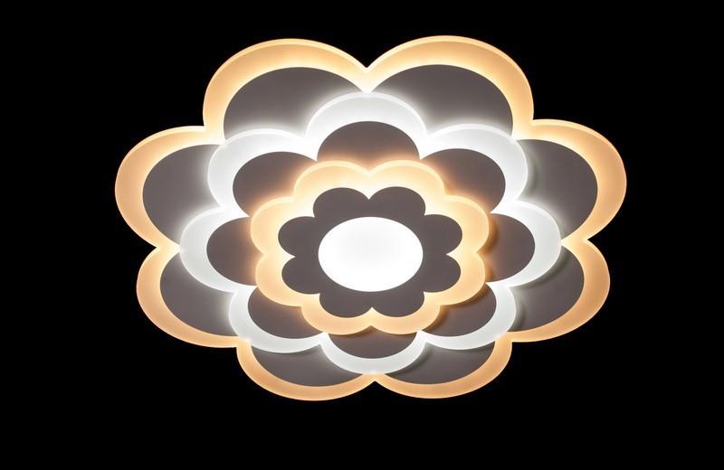 Светодиодная люстра с порежимным включением. 6000-550