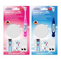 Набор зубная щетка+часики+стакан Complete Baby 0-3