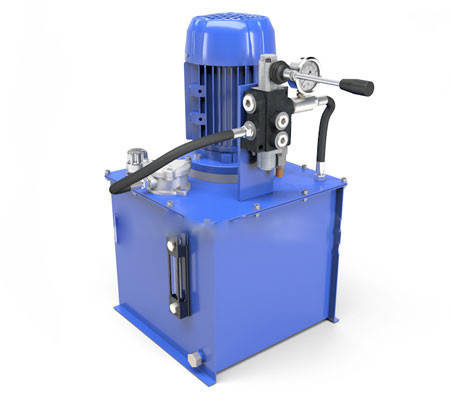 Маслостанція c ручним керуванням 200 бар, 10 л/хв, 4 кВт, фото 2