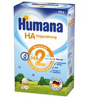 Смесь молочная Хумана гипоаллергеная ГА 2 humana HA, 500г