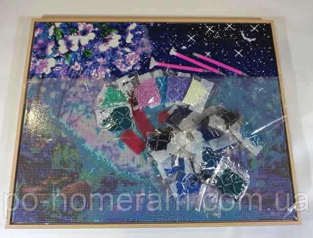 Алмазная мозаика премиум набор комплектация
