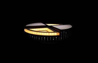 Светодиодный светильник накладной7711Bk, фото 3