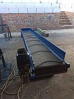 Конвейер, транспортер ленточный горизонтальный / наклонный