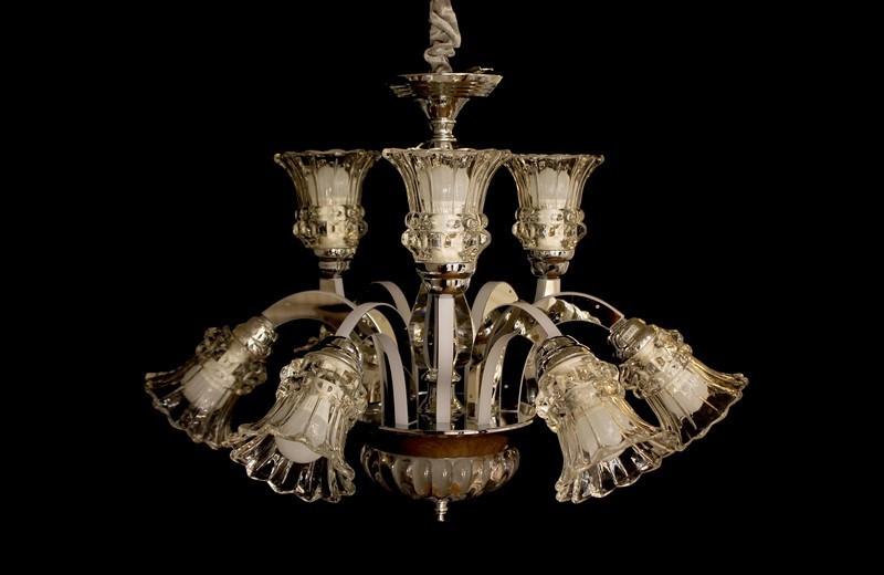 Современная люстра в классическом стиле 8337/6+3 CR