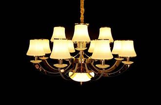 Современная люстра в классическом стиле 8345/8+4, фото 3