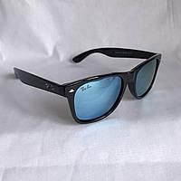 Солнцезащитные очки Полароид Ray Ban Wayfarer голубой