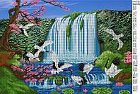 Схема для вышивки бисером Водопад