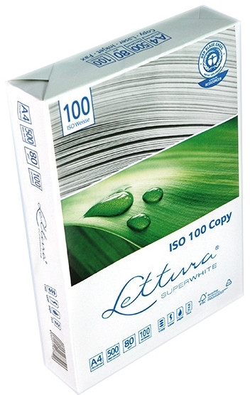 Экологический бумага a4, 80 г / м lettura iso 100
