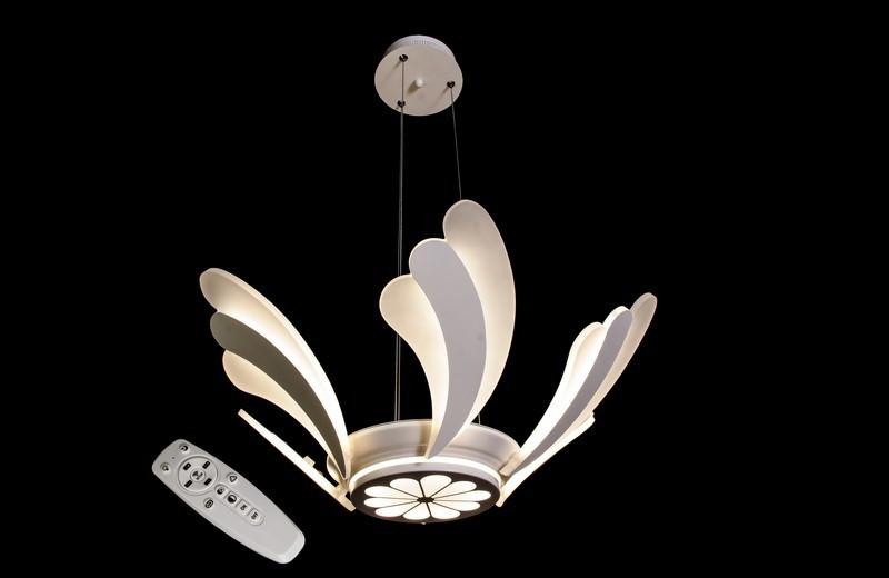 Светодиодная припотолочная люстра с диммером. Площадь освещения 10-18 кв.м8562/6 Dimmer