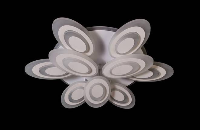Светодиодная припотолочная люстра с диммером. Площадь освещения 16-20 кв.м8565-6+3 LED, фото 2