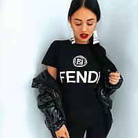 Футболка женская Fendi, фенди, фото 1