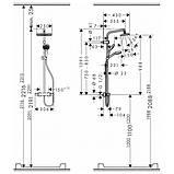 Душова система Hansgrohe My Select Showerpipe 26764400, фото 2