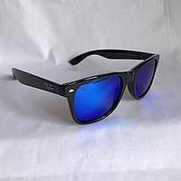 Солнцезащитные очки Полароид Ray Ban Wayfarer синий