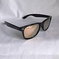 Солнцезащитные очки Полароид Ray Ban Wayfarer розовый