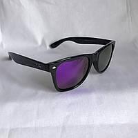 Солнцезащитные очки Полароид Ray Ban Wayfarer фиолетовый