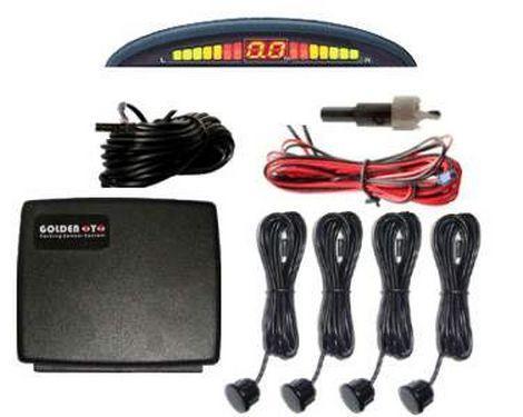 Парктроник Assistant Parking Sensor 4 датчика парковочный радар 22 м звуковой парктронник