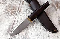 Нож ручной работы  из нержавеющей стали n690