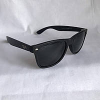 Солнцезащитные очки Полароид Ray Ban Wayfarer черный матовый