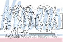 Вентилятор системы охлаждения двигателя Nissens 85214 на Ford Focus / Форд Фокус
