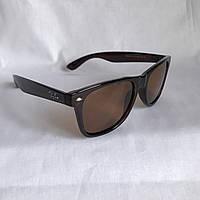 Солнцезащитные очки Полароид Ray Ban Wayfarer коричневый