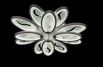 Светодиодная припотолочная люстра с диммером. Площадь освещения 15-20 кв.м8886/8+4 Dimmer, фото 2