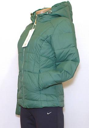 Куртка приталенная короткая, фото 3