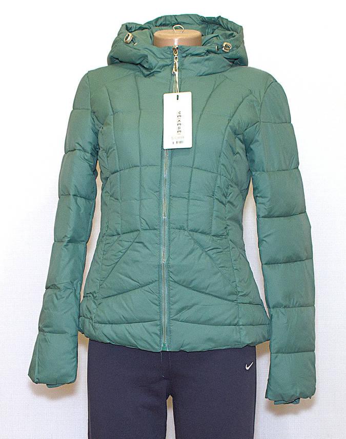 Куртка приталенная короткая, фото 2