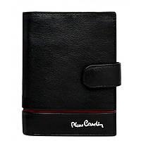 Pierre Cardin 331A-TILAK15 Шкіряний гаманець червона лінія, фото 1