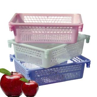 Ящик пластиковий складський для фруктів та ягід №2 100*300*395мм, Од