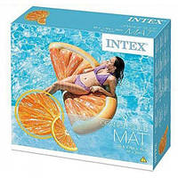 Матрас Плотик Апельсин в коробке INTEX 58763