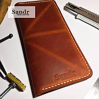 Чоловічий шкіряний гаманець, фото 1