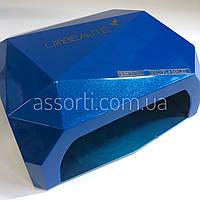 LED+CCFL Lamp Diamond 36W для геля, гель-лака синяя