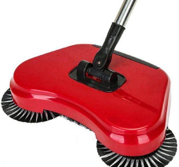 Механическая щётка-веник швабра для уборки пола Sweep drag all in one Rotat