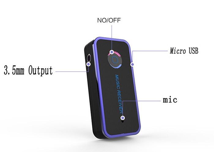 Адаптер в машину гарнитура BT510 Car Audio Bluetooth громкая связь 4.1 Музыкальный приемник