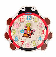 Деревянные часы Baby Mix Божья коровка TP-52096 (8905)