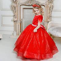 """Пышное бальное платье в пол для девочки """"Валери"""", фото 1"""