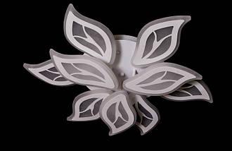 Светодиодная припотолочная люстра с LED подсветкой и пультом. Площадь освещения 14-20 кв.м8888/6+3 LED, фото 3