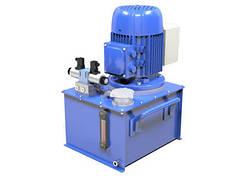 Маслостанция c электромагнитным управлением  (200 бар, 10 л/мин, 4 кВт)