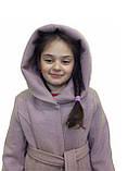 """Підліткове вовняне пальто """"Girls"""" від виробника, фото 4"""