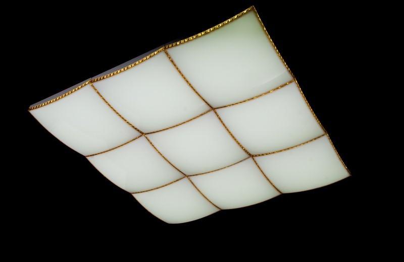 Современная большая потолочная светодиодная люстра с поочередным включением трех режимов и плавным пуском. Площадь освещения 18-25 кв.м889-9-13