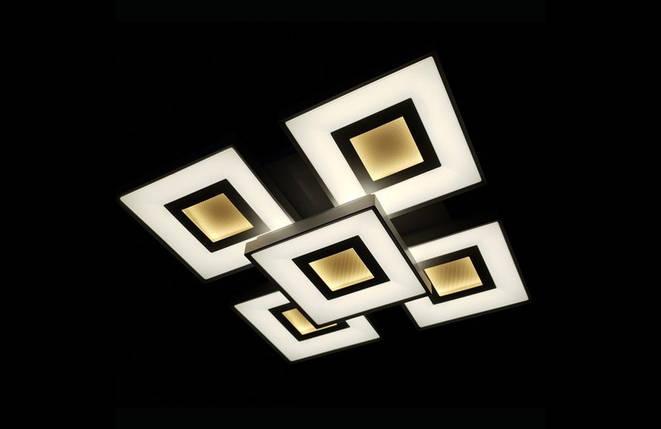 Светодиодная припотолочная люстра. Площадь освещения 16-20 кв.м9004/4+1, фото 2